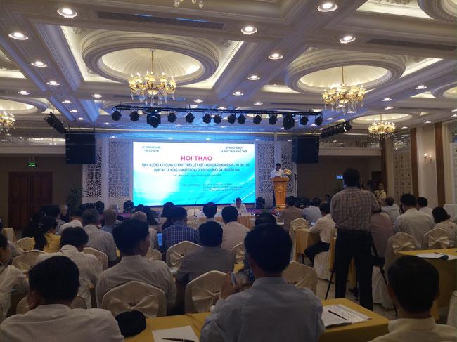 Hội thảo về định hướng xây dựng liên kết chuỗi giá trị nông sản – Vai trò của Hợp tác xã nông nghiệp trong xây dựng chuỗi giá trị nông sản