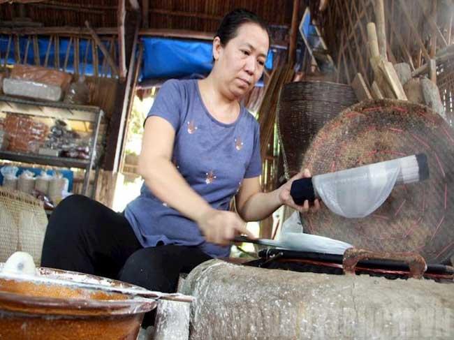 Bánh tráng Phú Hòa Đông, Củ Chi tất bật những ngày cận Tết